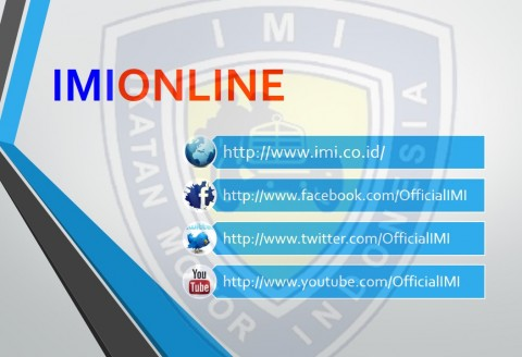 Facebook & Twitter Resmi IMI
