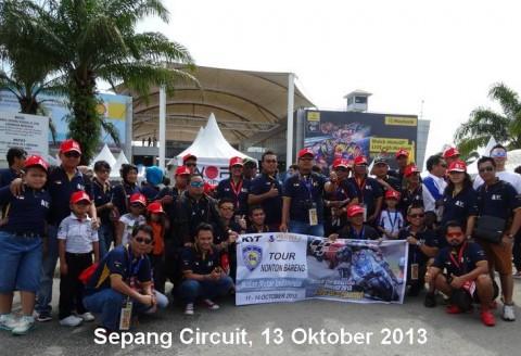 Nonton Bareng Moto GP Di Sepang Circuit