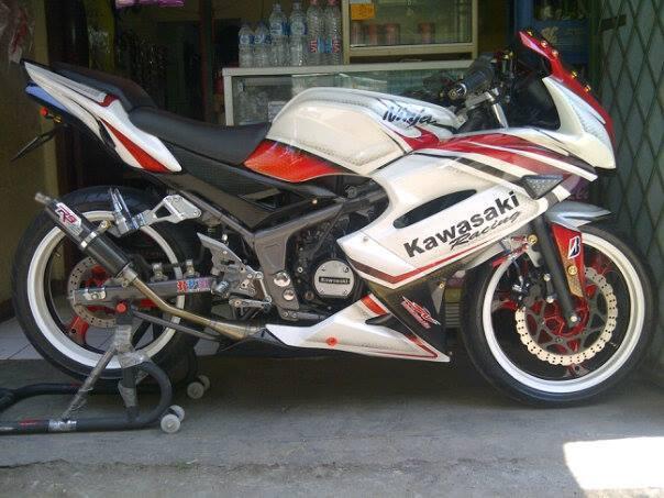 Kegiatan Ninja R Community Kawasaki