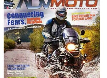 Proudly present, Ride For Peace at the most popular motorcycle adventure magazine in US : AdvMoto Magazine...