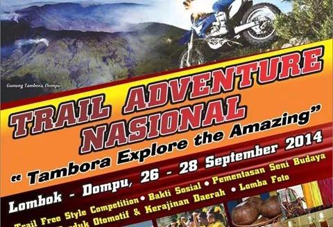Kegiatan Wisata touring dan Trail Adventure Nasional